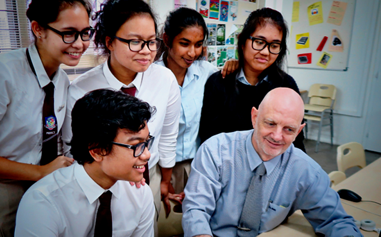 Encouraging Students To Challenge The Norms: Stephen West ...